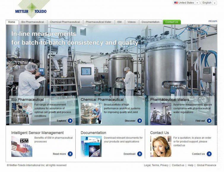 Die Internetseite für die Produktbranche wird mit dem Bannerbild beschmückt. | © Eric Shambroom Photography