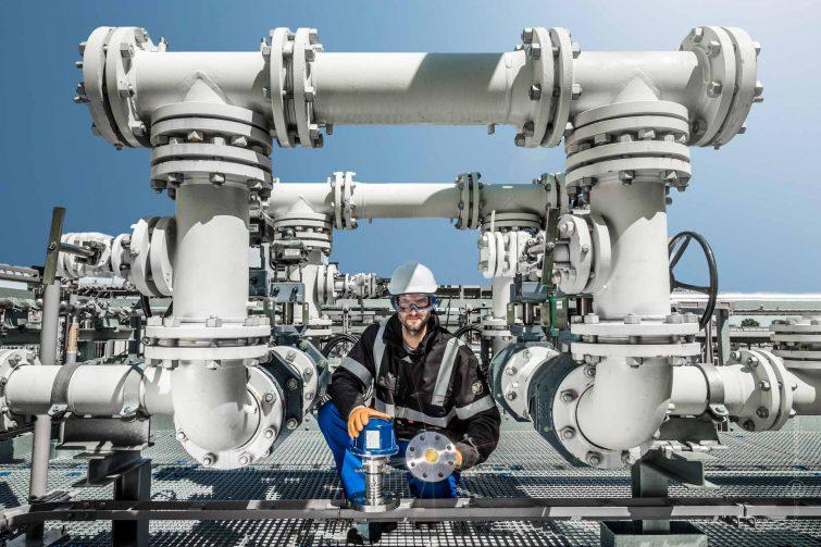Der Gas Analyzer arbeitet mit Laser und Spiegel | © Eric Shambroom Photography