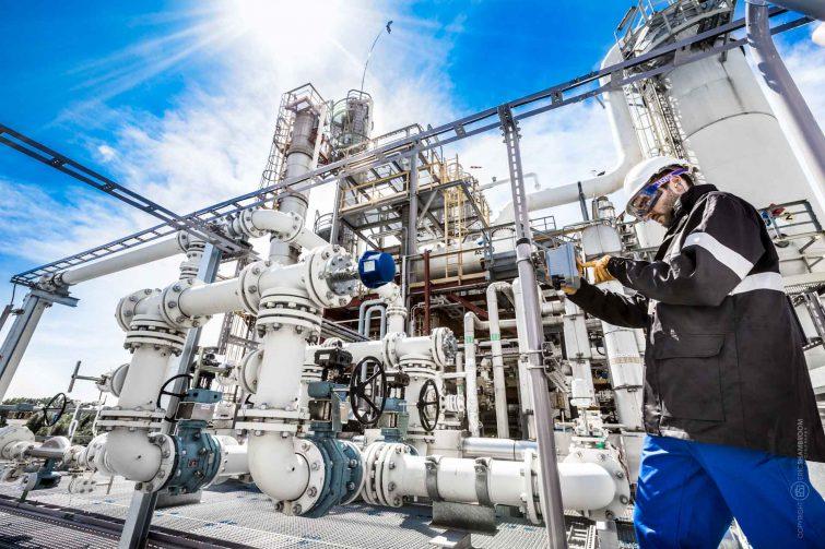 Der Gas Analyzer wird eingestellt | © Eric Shambroom Photography