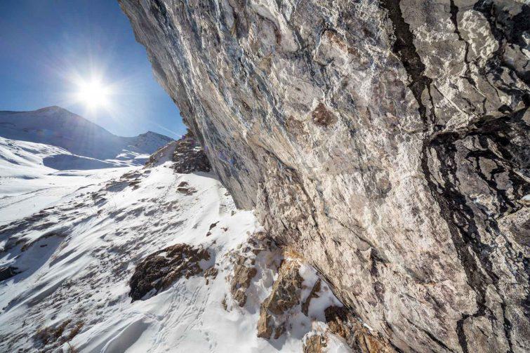 Die Oberfläche von Stein und Schnee sind sich sehr ähnlich. | © Eric Shambroom Photography