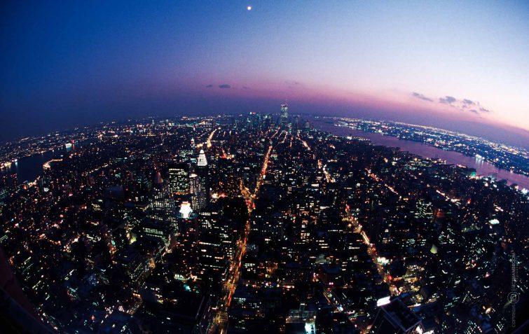 Der Ausblick vom Empire State Gebäude | © Eric Shambroom Photography