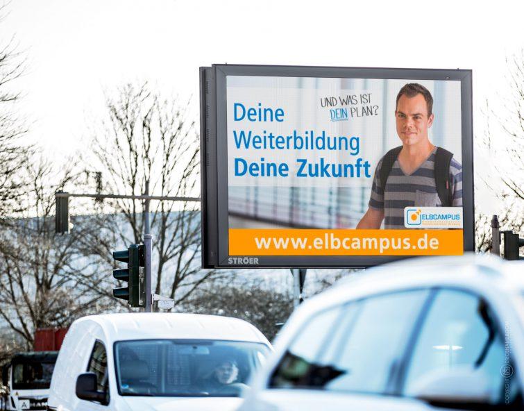 Corporate Fotografie: Eine Plakatkampagne erhöht die Bekanntheit der Bildungseinrichtung | © Eric Shambroom Photography