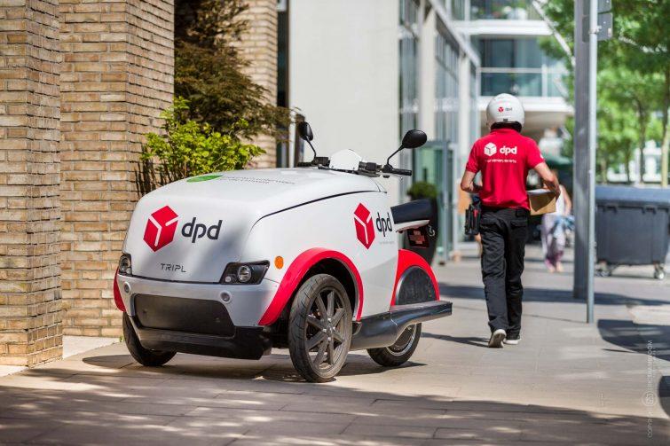 Das DPD TRIPL mach die Auslieferung effizienter. | © Eric Shambroom Photography