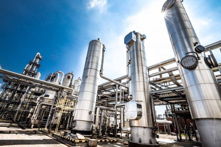 Industriefotografie: Chemiefabrik | © Eric Shambroom Photography
