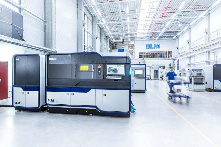Industriefotografie: SLM Solutions 3D Printers