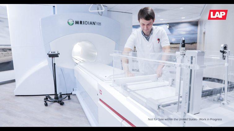 LAP Laser THALES 3D SCANNER Wasserphantom zur Kommissionierung und Kalibrierung von MR-LINACs