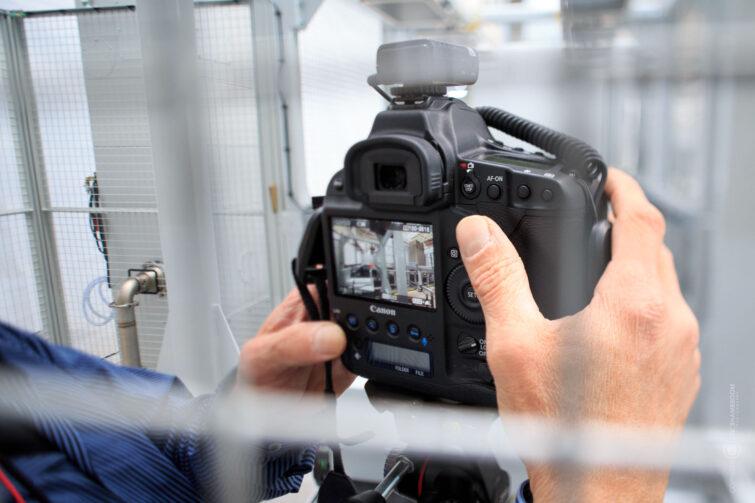 Industriefotografie: Making-of | © Eric Shambroom Photography