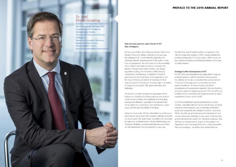 Fraunhofer ISIT Geschäftsbericht 2019 | © Eric Shambroom Photography