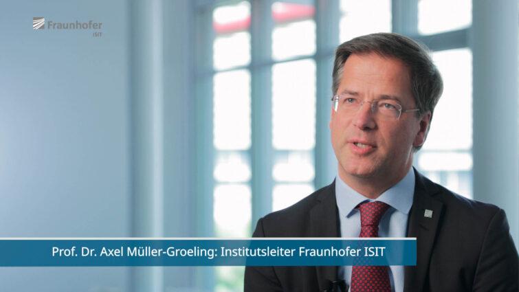 Prof. Dr. Axel Müller-Groeling, Leiter des Fraunhofer-Institut für Siliziumtechnologie (ISIT) | © Eric Shambroom Photography