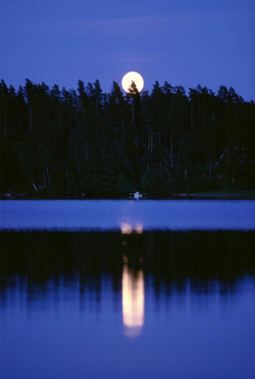 Mondaufgang, Schweden | © Eric Shambroom Photography