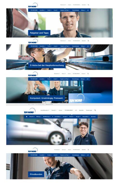 Corporate-Fotografie: Banner Internetseite für TÜV Nord   © Eric Shambroom Photography
